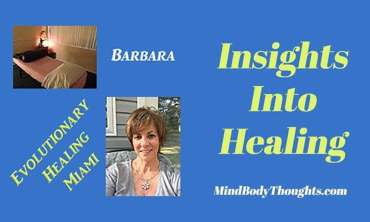 Barbara Writes Insights Into Healing