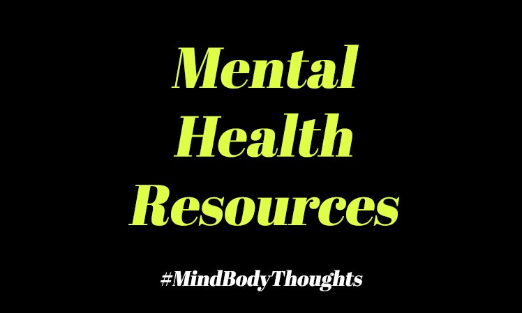 Mental Health Issues Resources