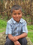 Helping Children International Create Hope - sponsored child Jonas