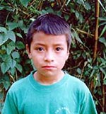 Helping Children International Create Hope - sponsored child Jose