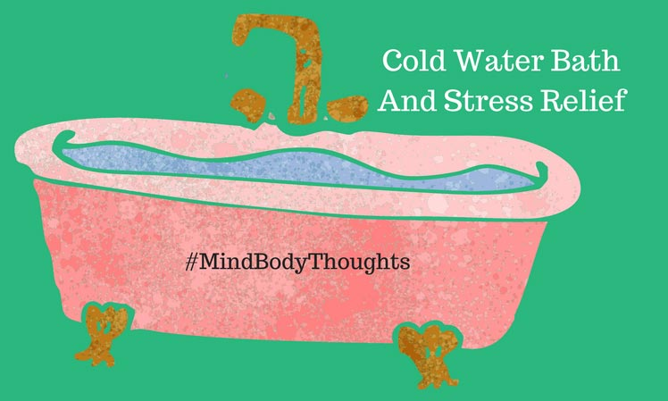 Cold Water Bath And Stress Relief