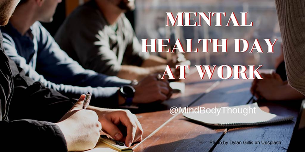 Mental Health Day At Work – Confession