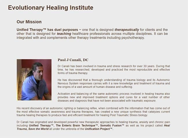 Dr Canali's Healing Words