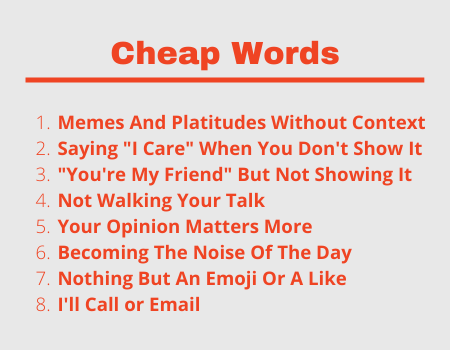 Cheap Words