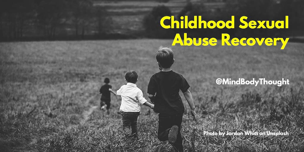 What has been the most helpful thing in your childhood sexual abuse recovery?