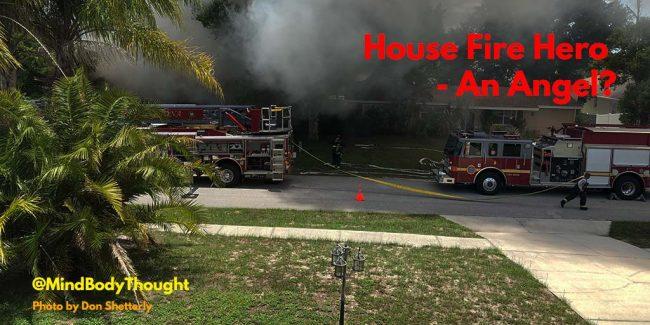 House Fire Hero Angel