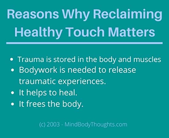 Why Reclaiming Health Touch Matters