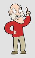 angry grandpa